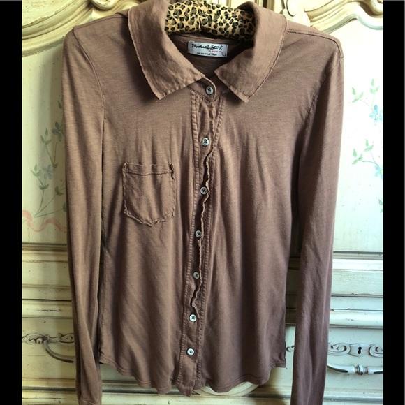 Michael Stars Tops - Michael Stars luxe slub blouse